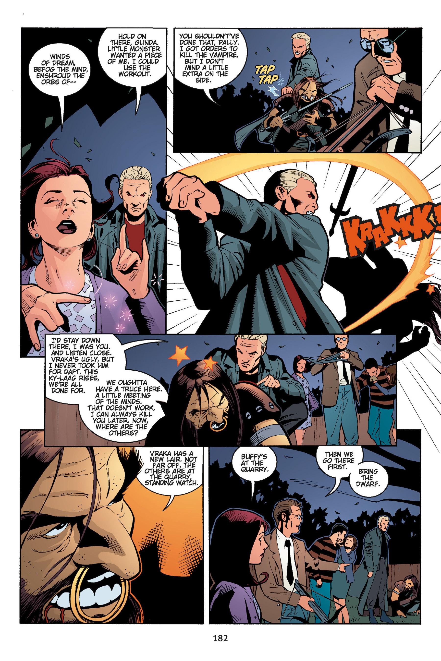 Read online Buffy the Vampire Slayer: Omnibus comic -  Issue # TPB 5 - 182