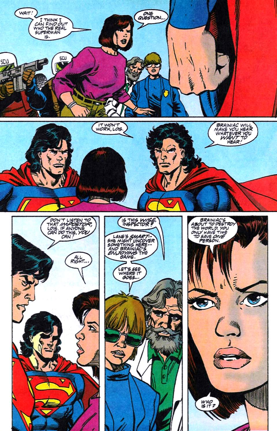 Read online Adventures of Superman (1987) comic -  Issue #519 - 10
