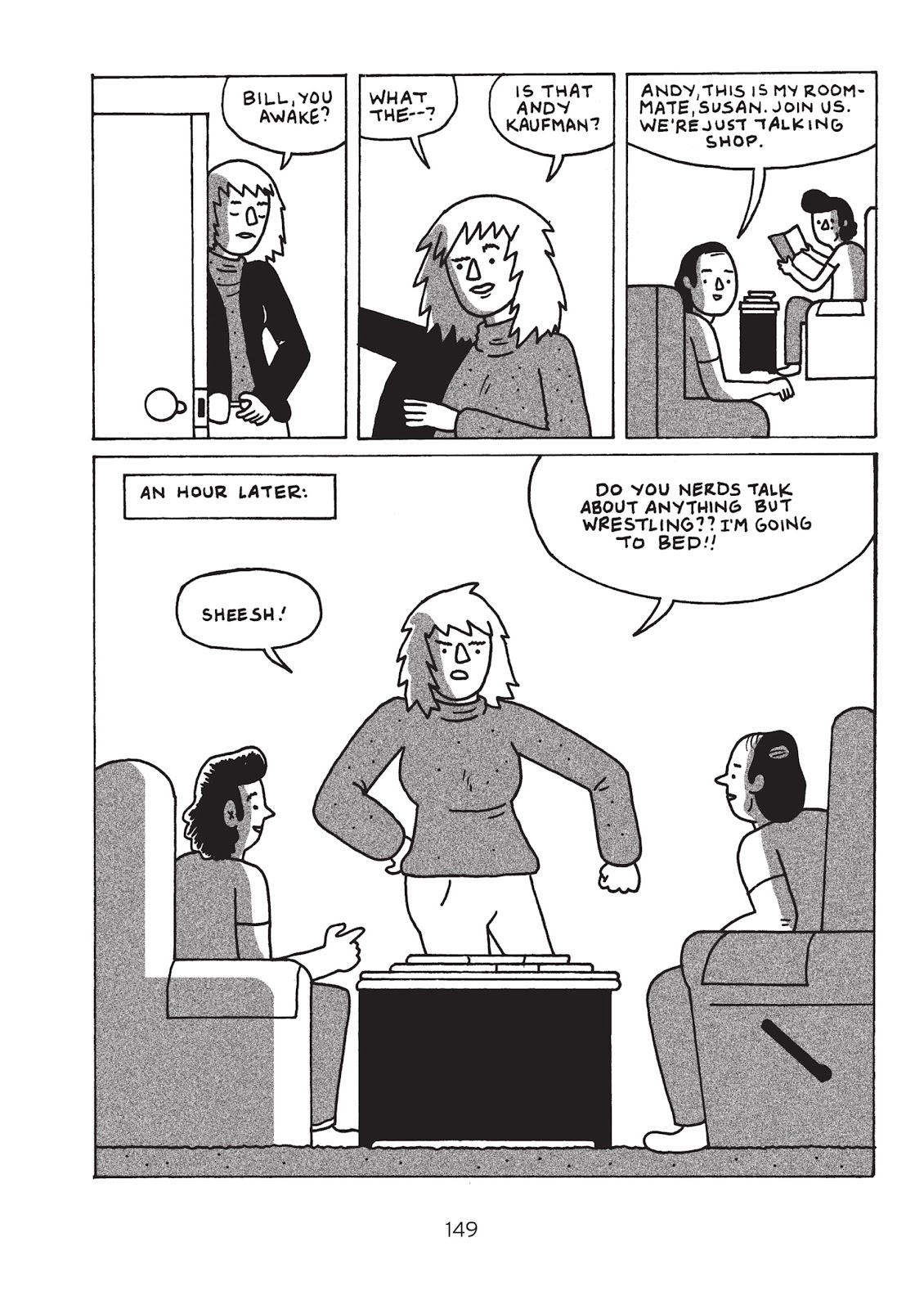 Read online Is This Guy For Real?: The Unbelievable Andy Kaufman comic -  Issue # TPB (Part 2) - 54