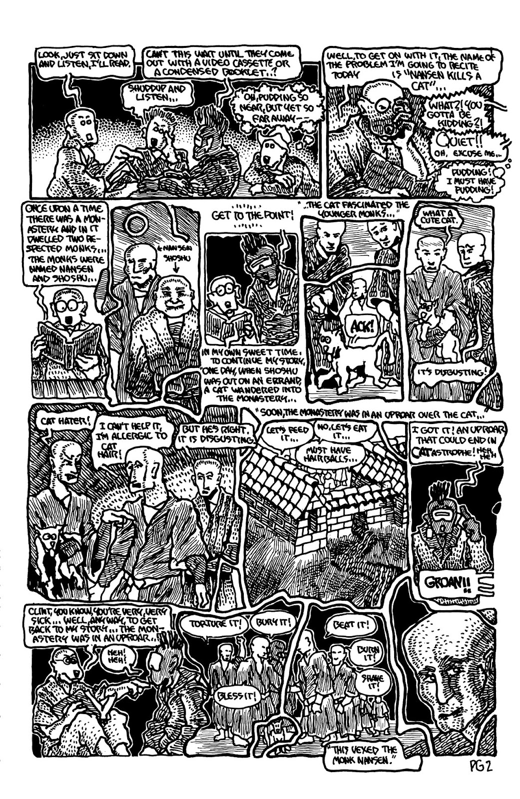 Adolescent Radioactive Black Belt Hamsters (1986) issue 9 - Page 14