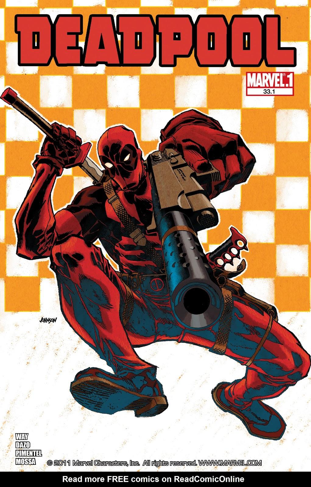 Read online Deadpool (2008) comic -  Issue #33.1 - 1
