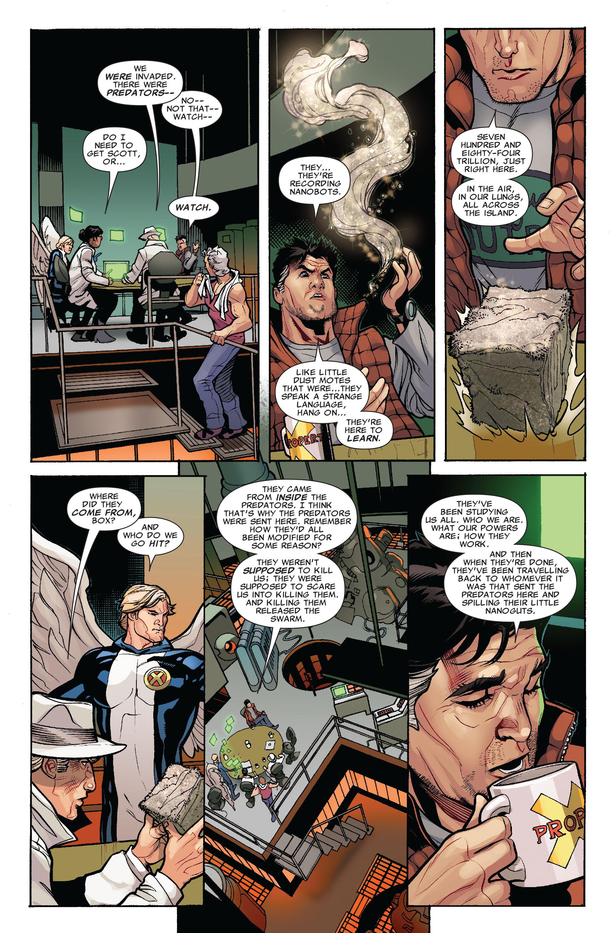 Read online Uncanny X-Men (1963) comic -  Issue #519 - 8