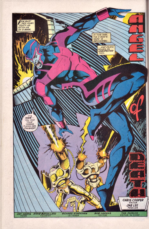 Read online Uncanny X-Men (1963) comic -  Issue # _Annual 16 - 37