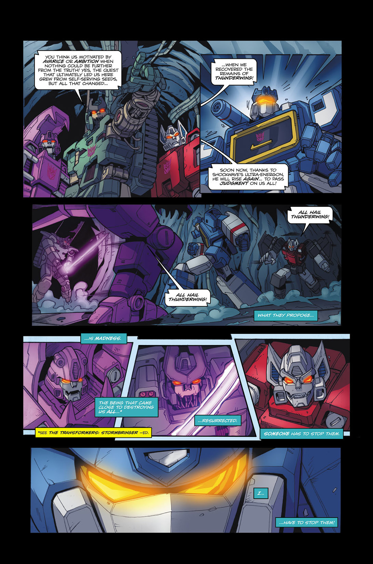 Read online Transformers Spotlight: Soundwave comic -  Issue # Full - 17