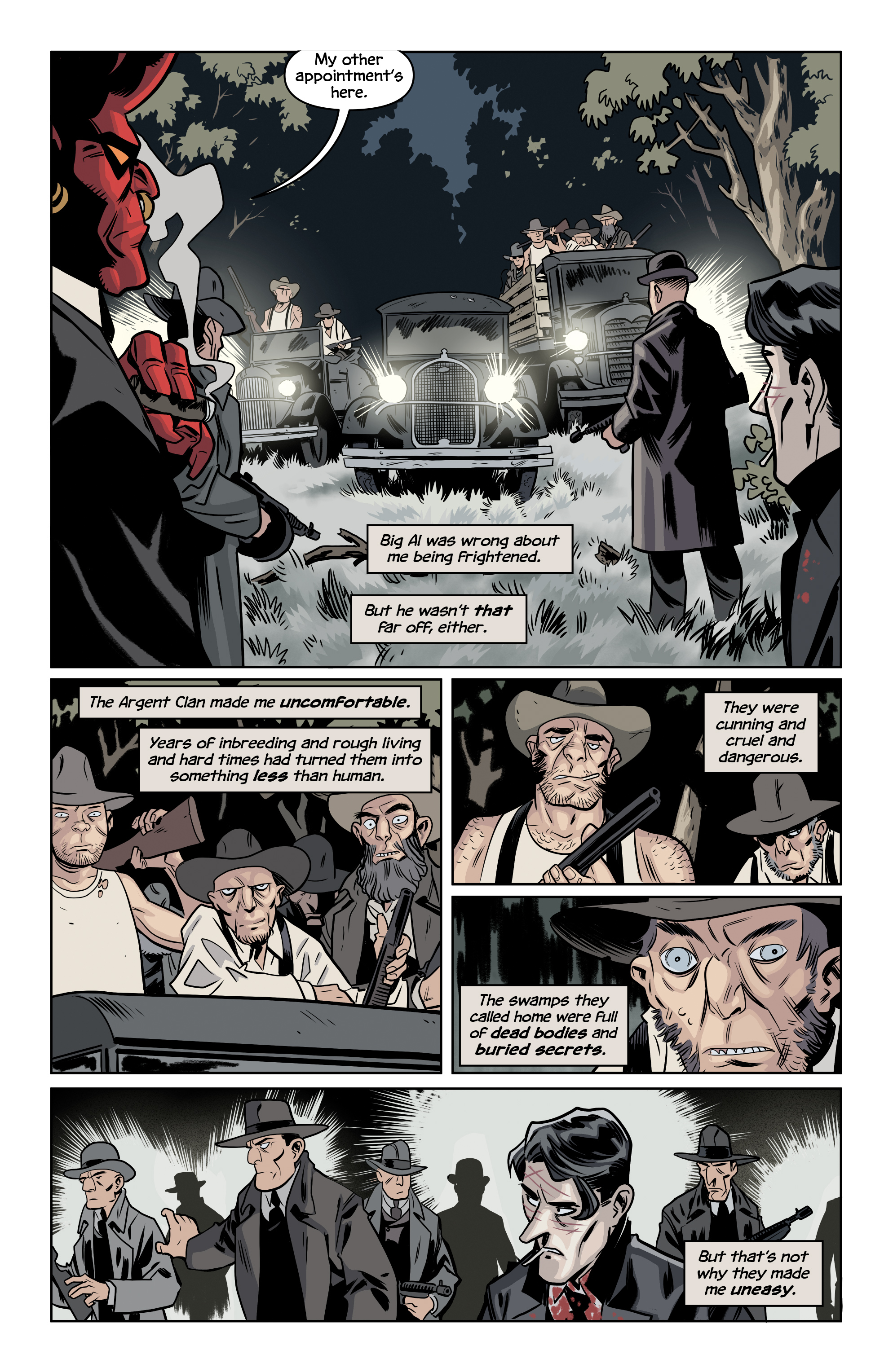 Read online The Damned comic -  Issue #2 - 10