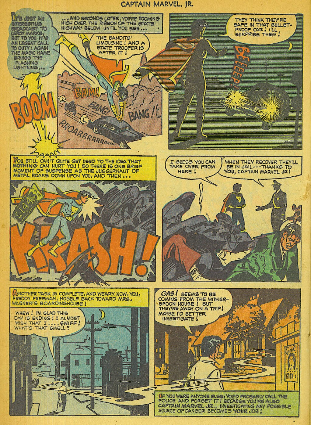 Captain Marvel, Jr. issue 111 - Page 19