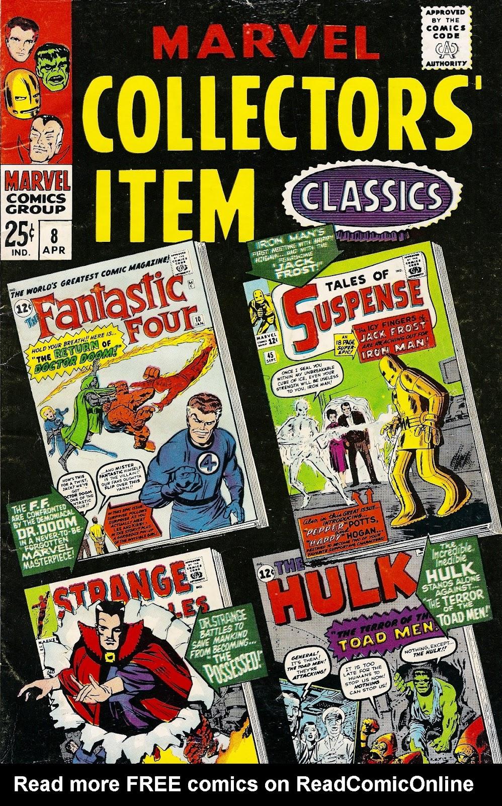 Marvel Collectors Item Classics 8 Page 1