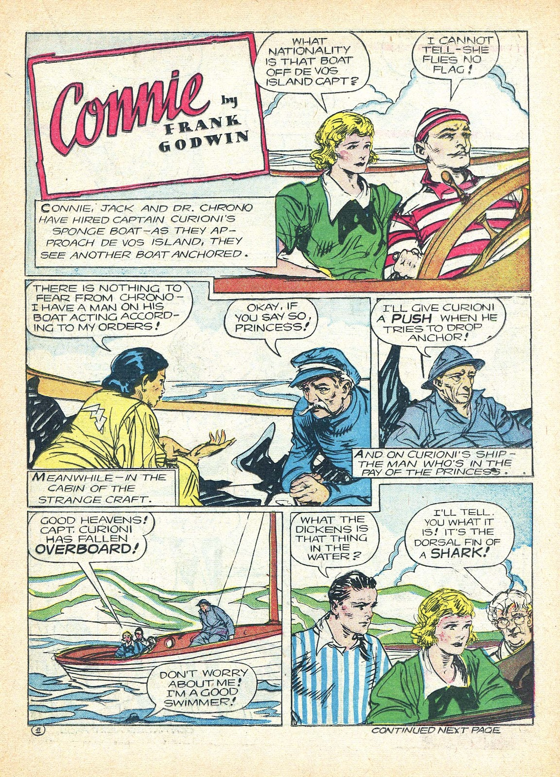 Read online Famous Funnies comic -  Issue #95 - 19
