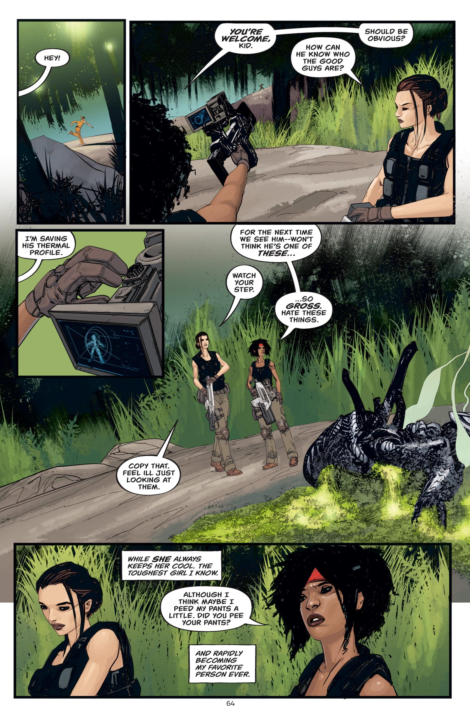 Read online Aliens: Resistance comic -  Issue # _TPB - 64