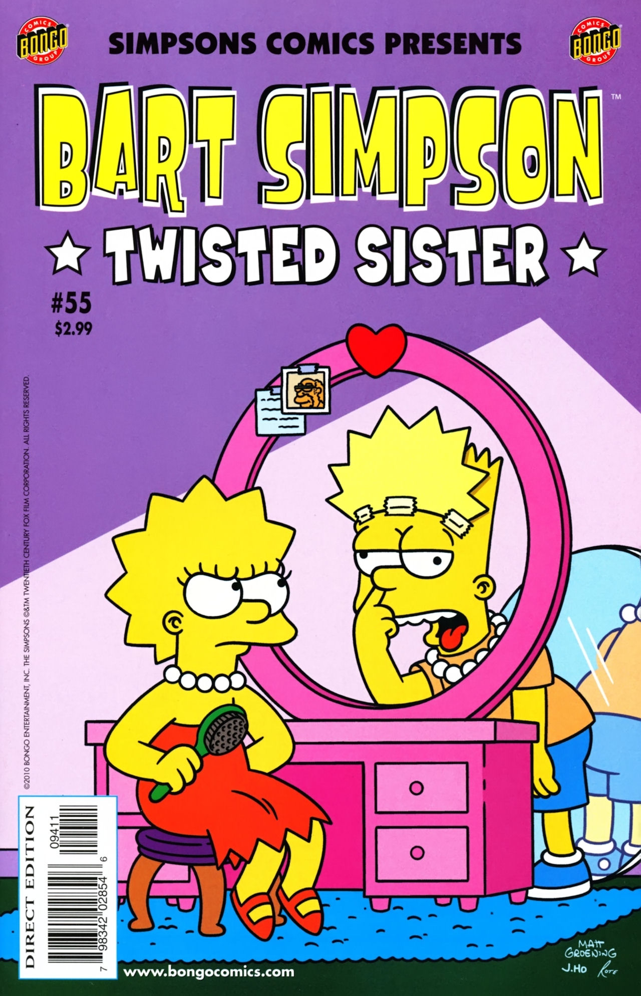 Read online Simpsons Comics Presents Bart Simpson comic -  Issue #55 - 1