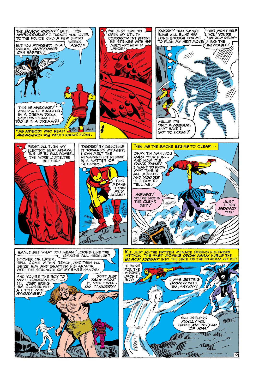Read online Marvel Masterworks: The Invincible Iron Man comic -  Issue # TPB 3 (Part 1) - 36