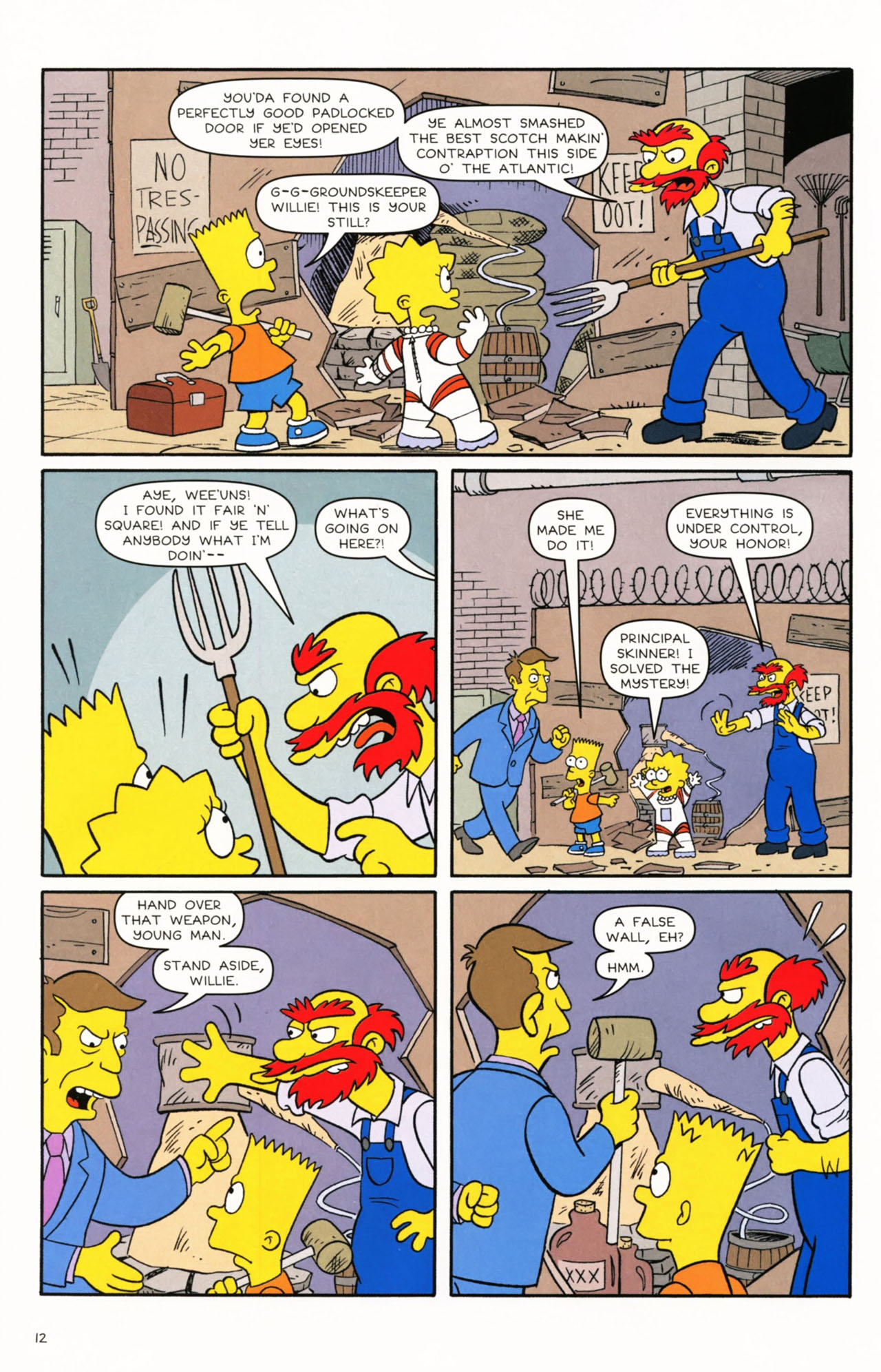 Read online Simpsons Comics Presents Bart Simpson comic -  Issue #53 - 14