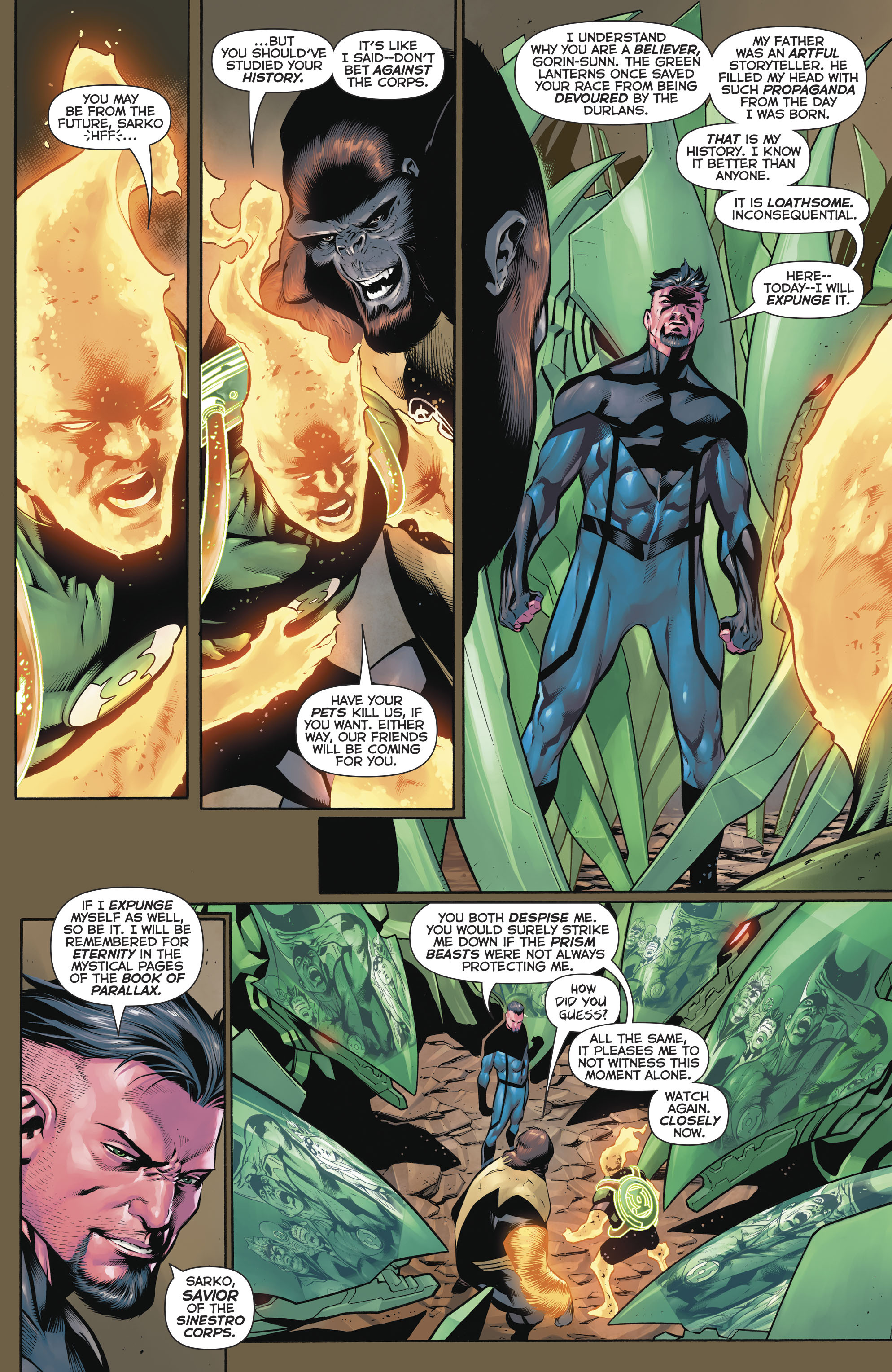Read online Hal Jordan And The Green Lantern Corps comic -  Issue #20 - 13