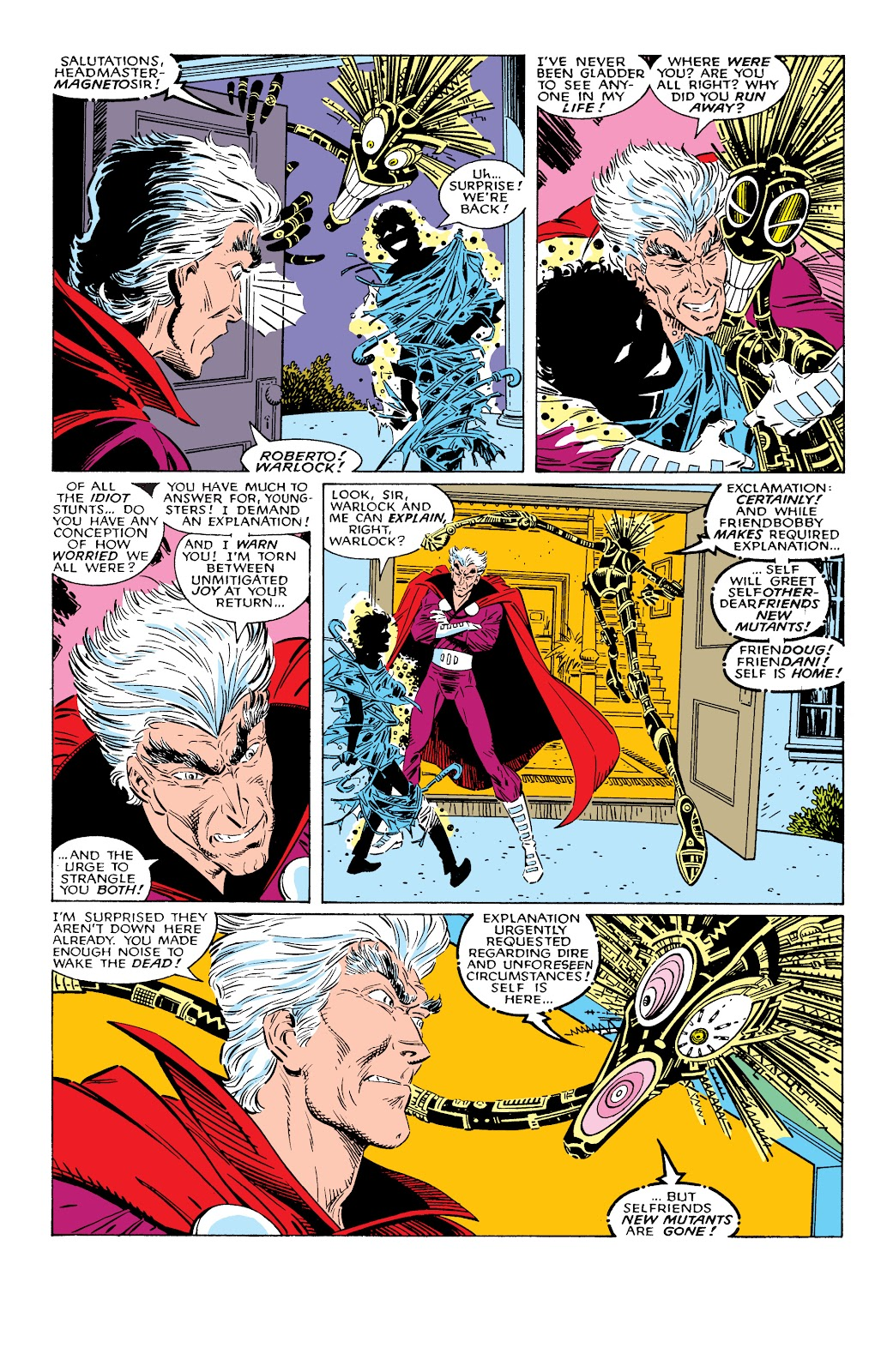 Read online X-Men Milestones: Fall of the Mutants comic -  Issue # TPB (Part 2) - 2