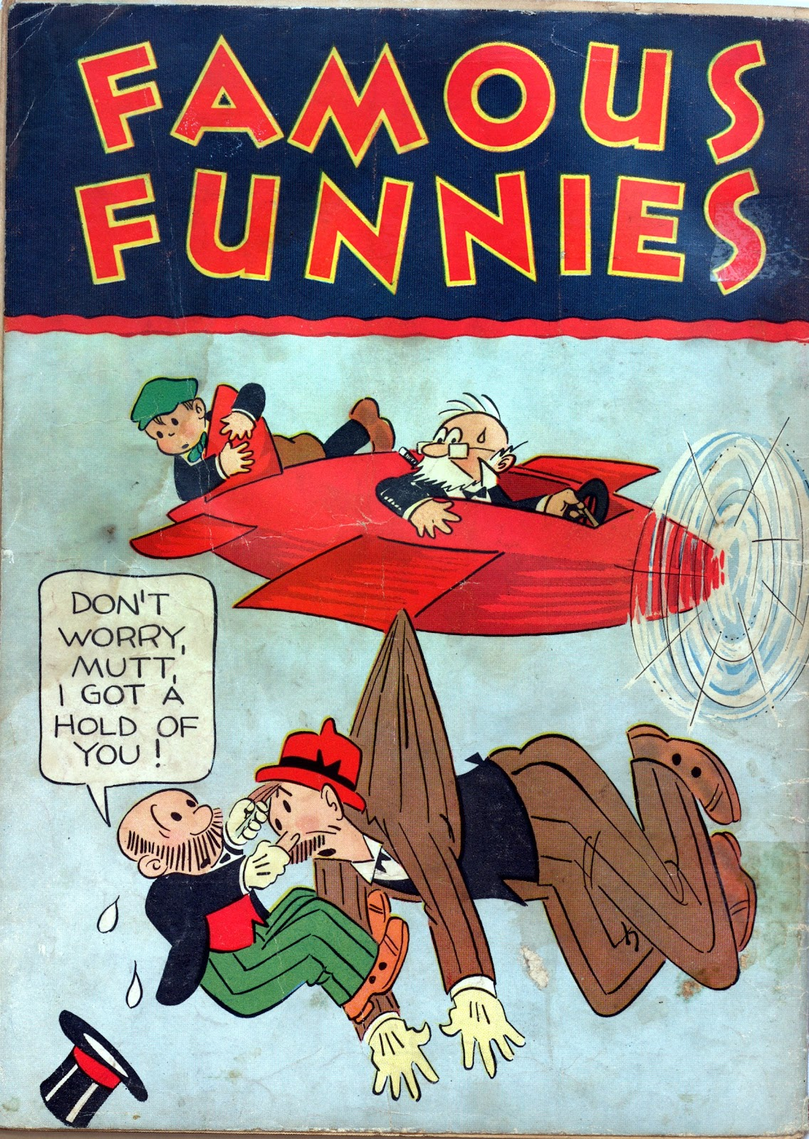 Read online Famous Funnies comic -  Issue #3 - 68