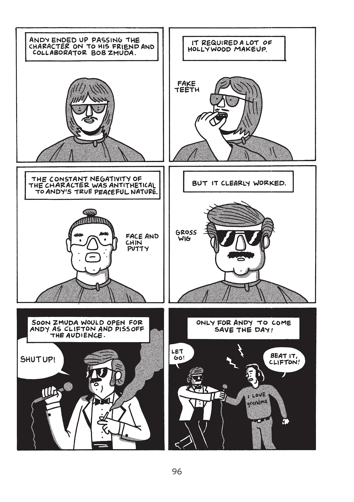 Read online Is This Guy For Real?: The Unbelievable Andy Kaufman comic -  Issue # TPB (Part 2) - 2