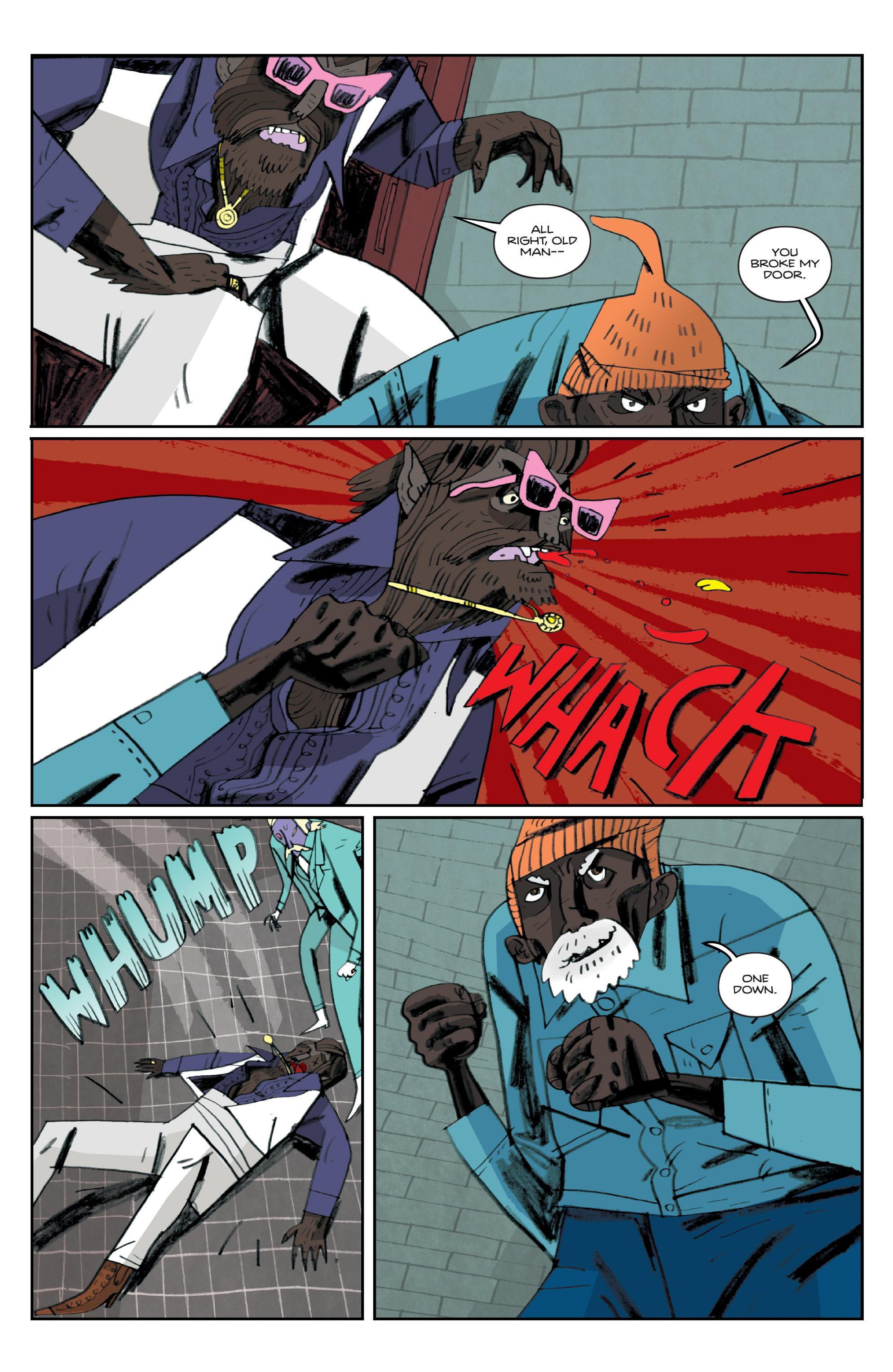 Read online Helena Crash comic -  Issue #3 - 19