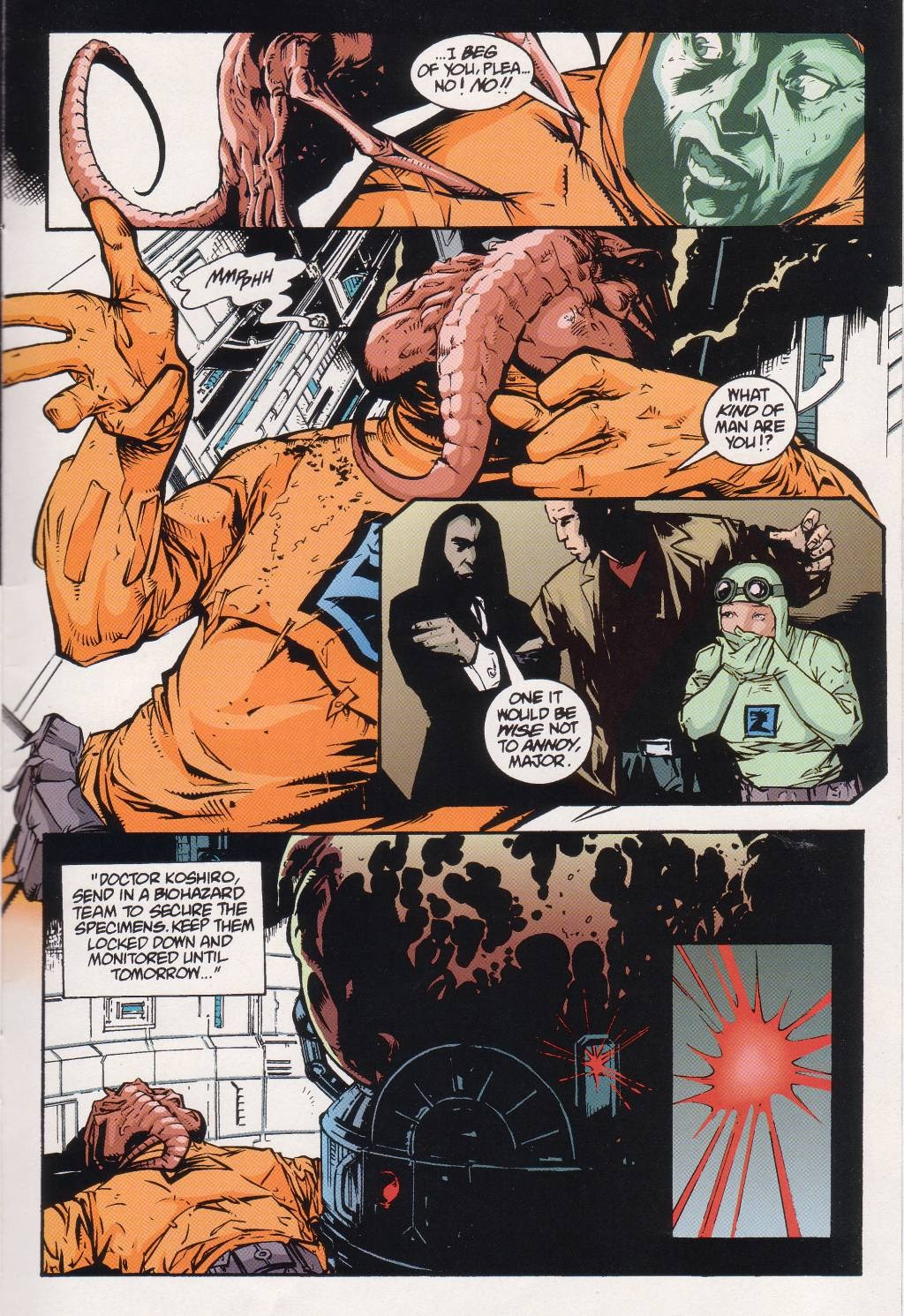 Aliens vs. Predator: Eternal issue 1 - Page 21