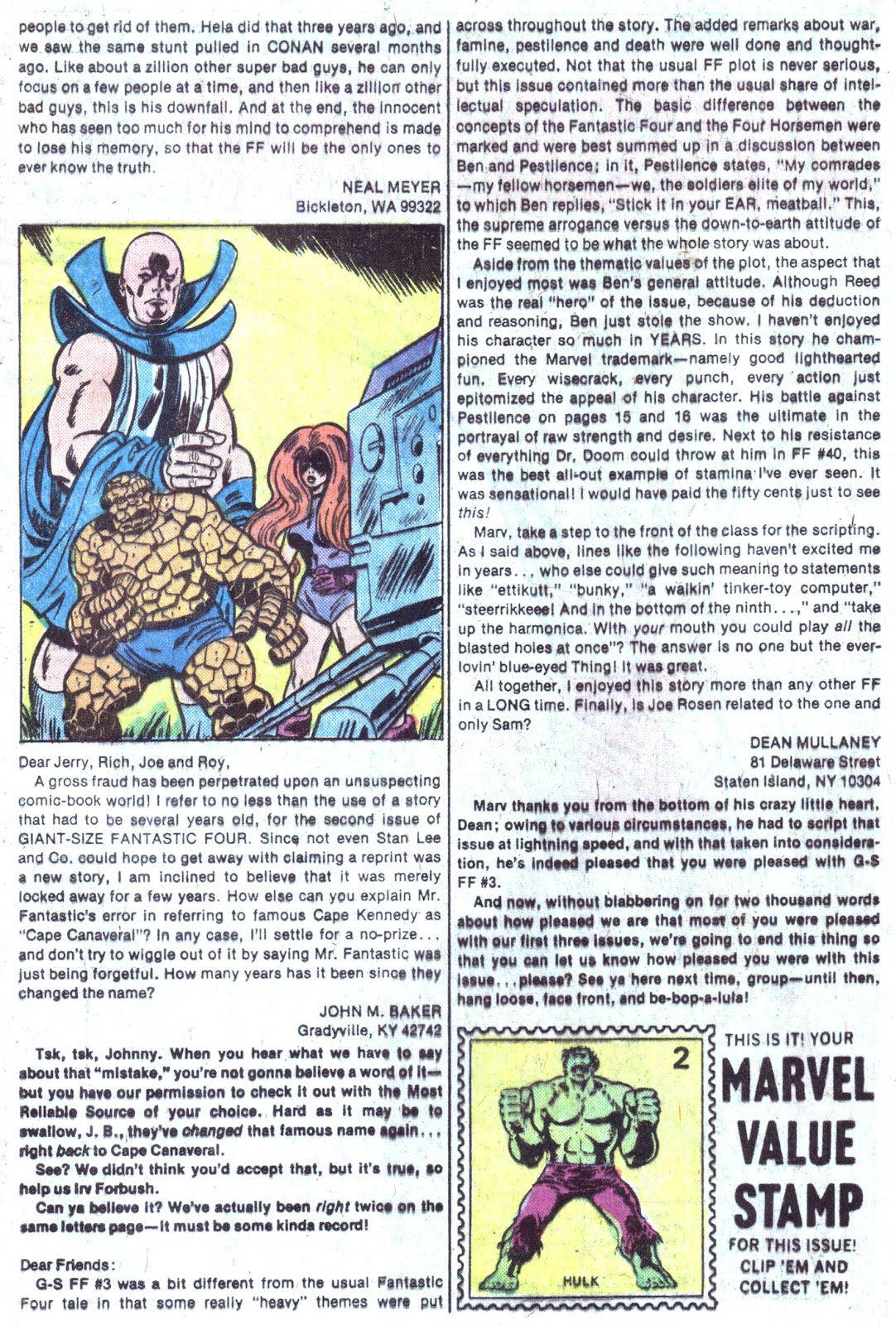 Giant-Size Fantastic Four issue 4 - Page 57