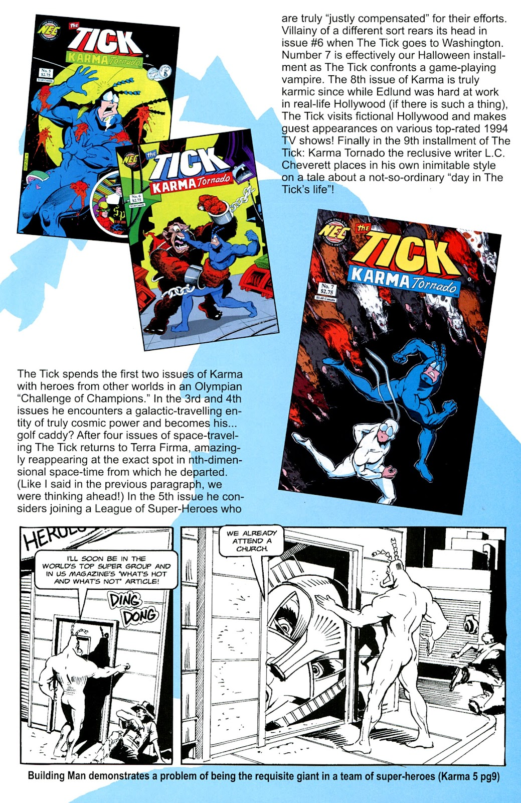 Read online The Tick comic -  Issue #100 - 35