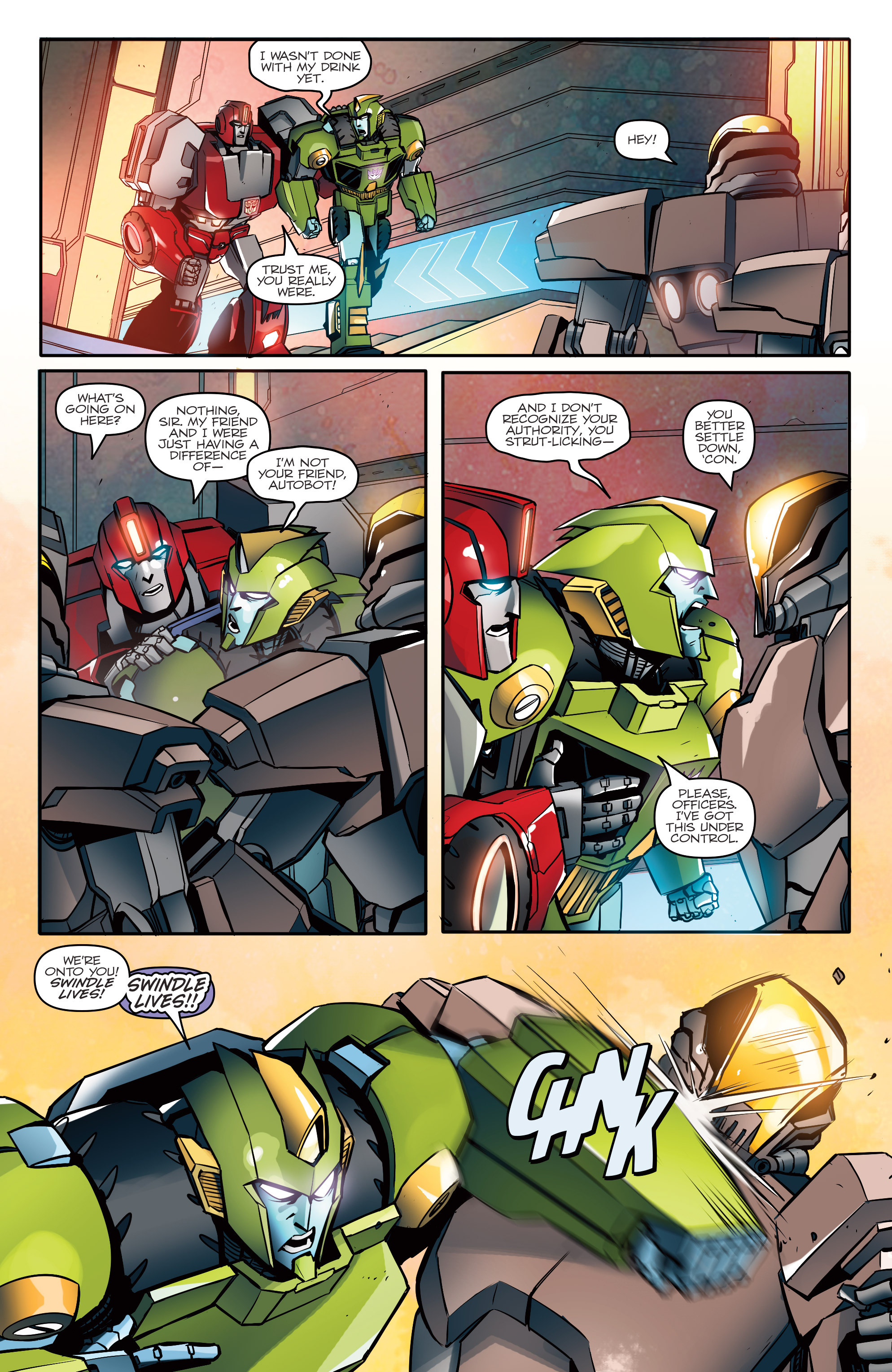 Read online Transformers: Till All Are One comic -  Issue #1 - 13