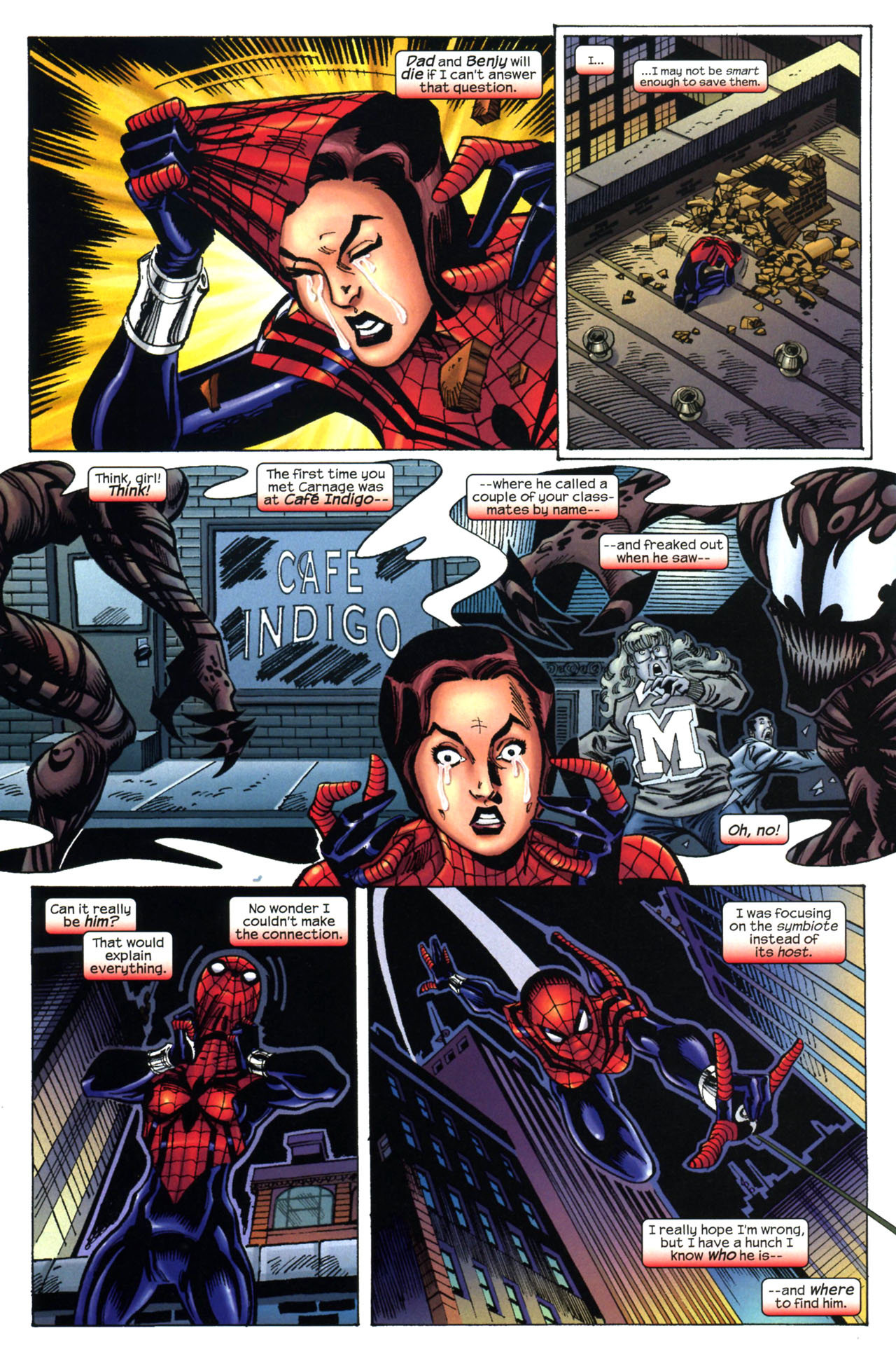 Read online Amazing Spider-Girl comic -  Issue #11 - 12