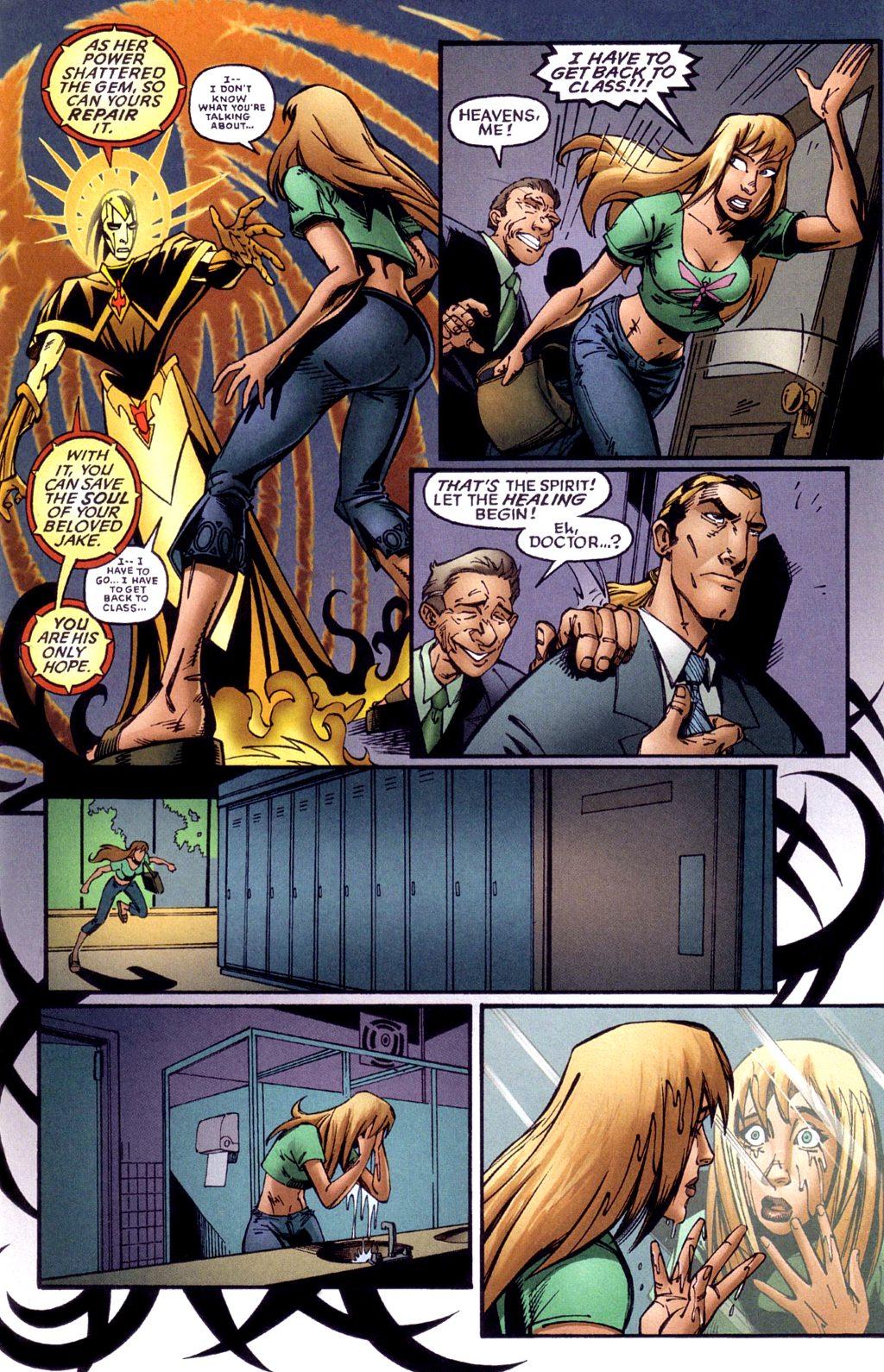 Read online Jezebelle comic -  Issue #1 - 10
