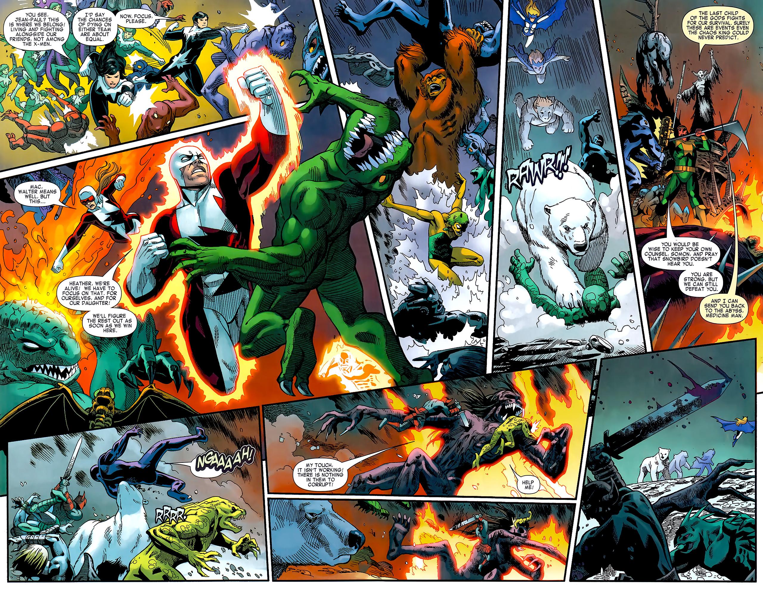 Read online Chaos War: Alpha Flight comic -  Issue # Full - 16