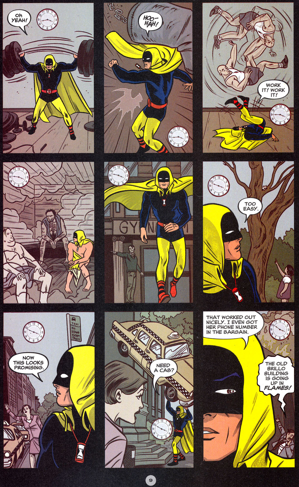 Read online Solo (2004) comic -  Issue #7 - 10