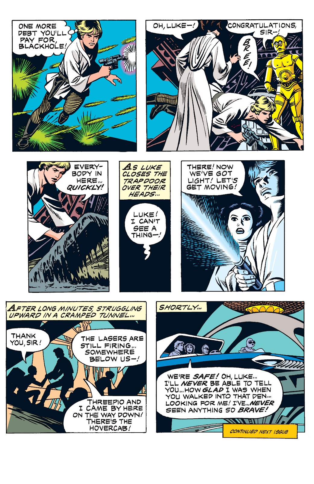 Read online Star Wars Legends: The Newspaper Strips - Epic Collection comic -  Issue # TPB (Part 2) - 18