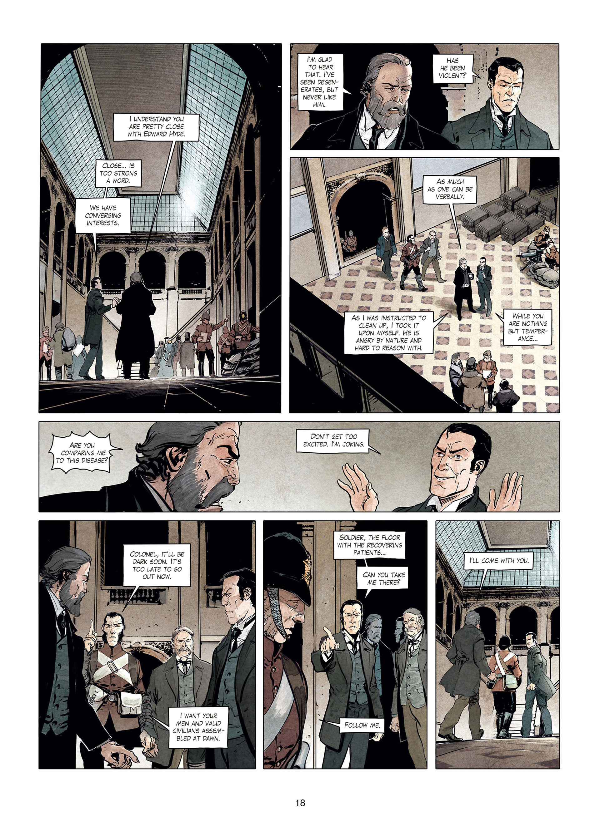 Read online Sherlock Holmes Society Tome 4 : Contamination comic -  Issue # Full - 18