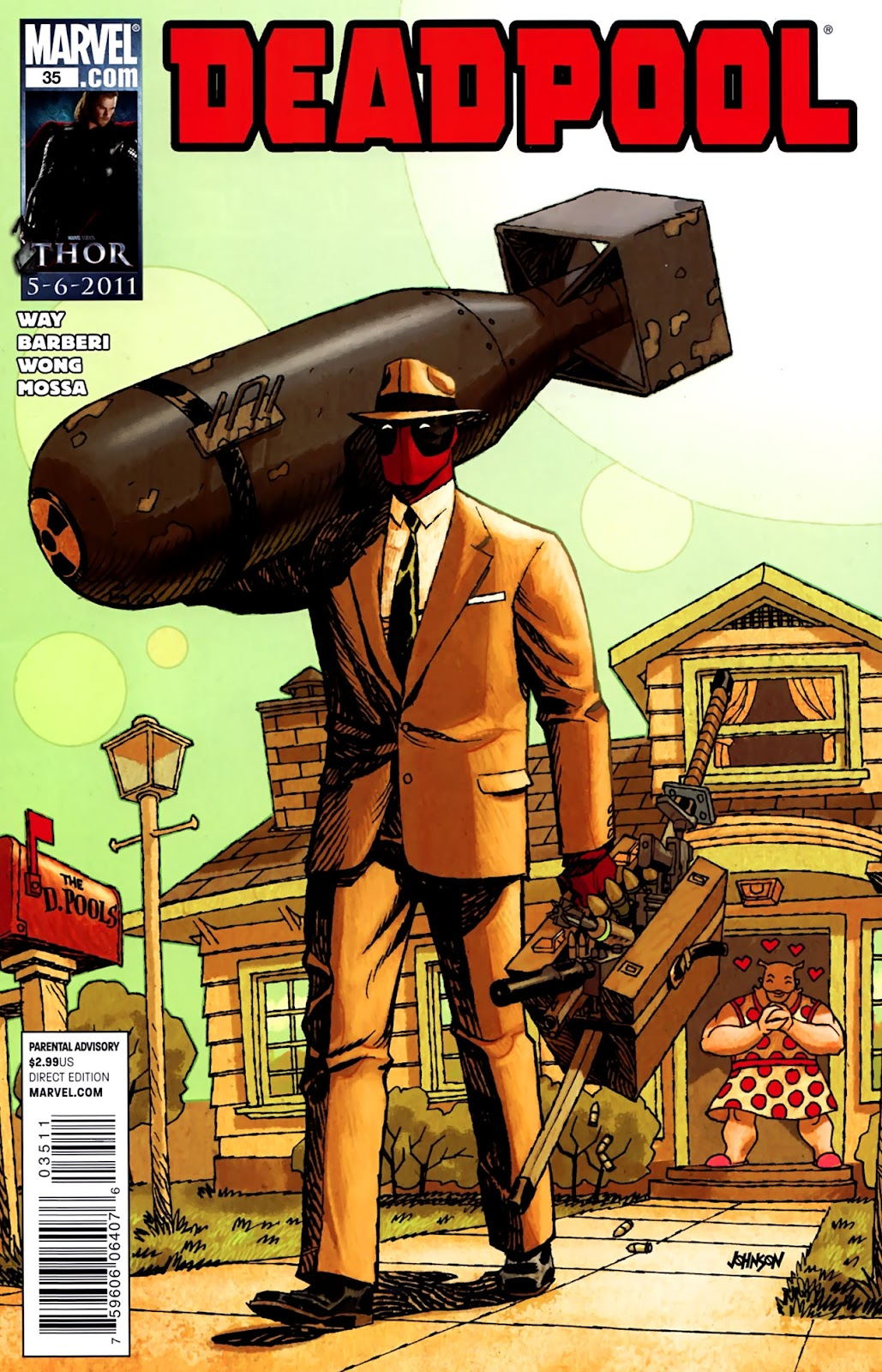 Read online Deadpool (2008) comic -  Issue #35 - 1