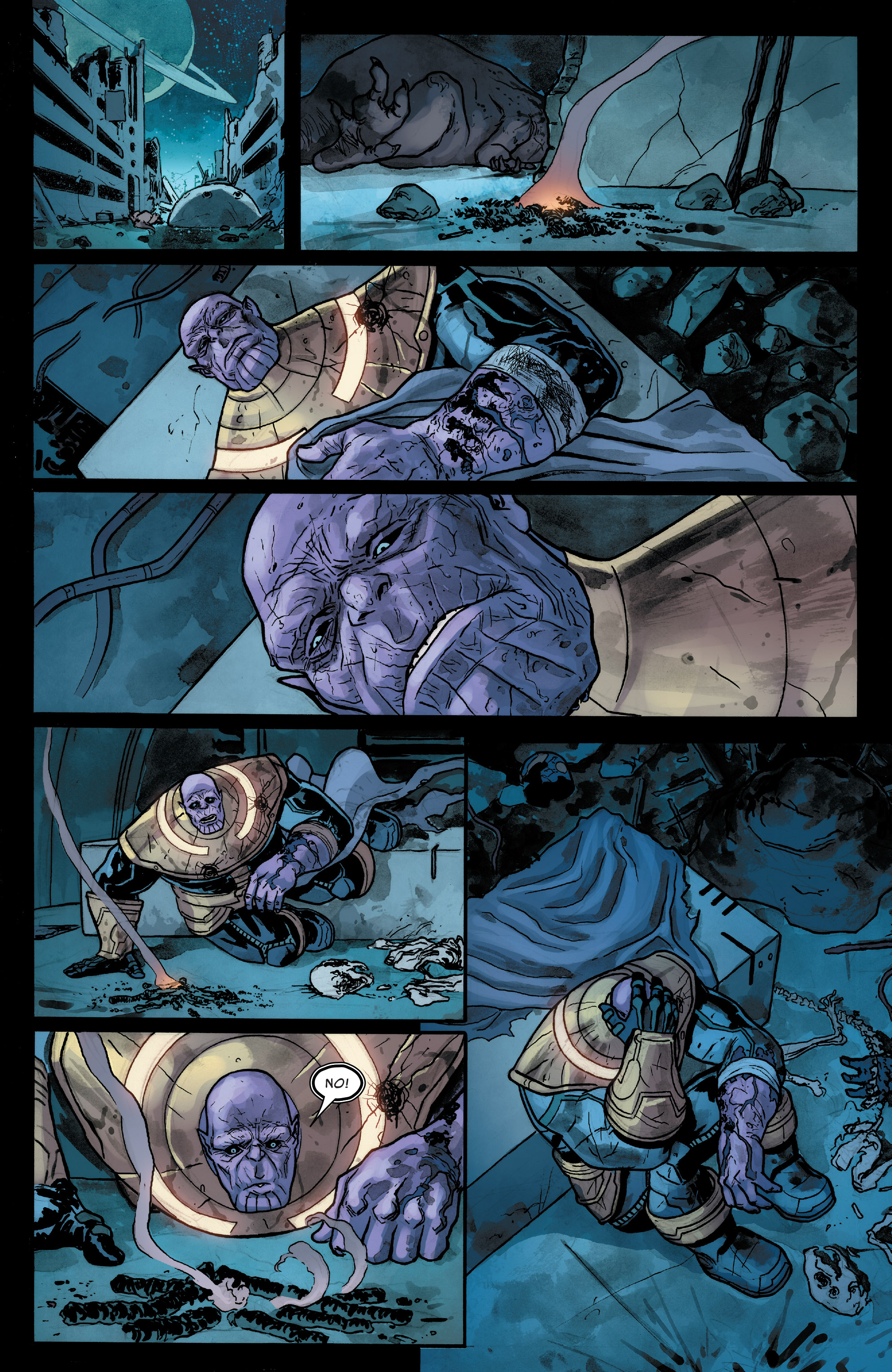 Read online Thanos (2016) comic -  Issue #7 - 10