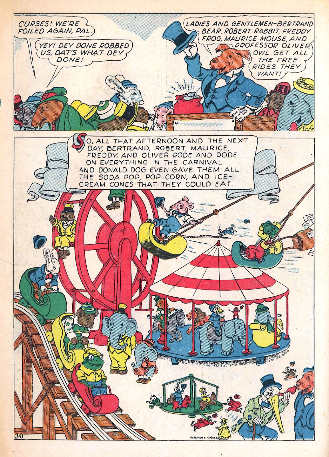 Read online Animal Comics comic -  Issue #4 - 33