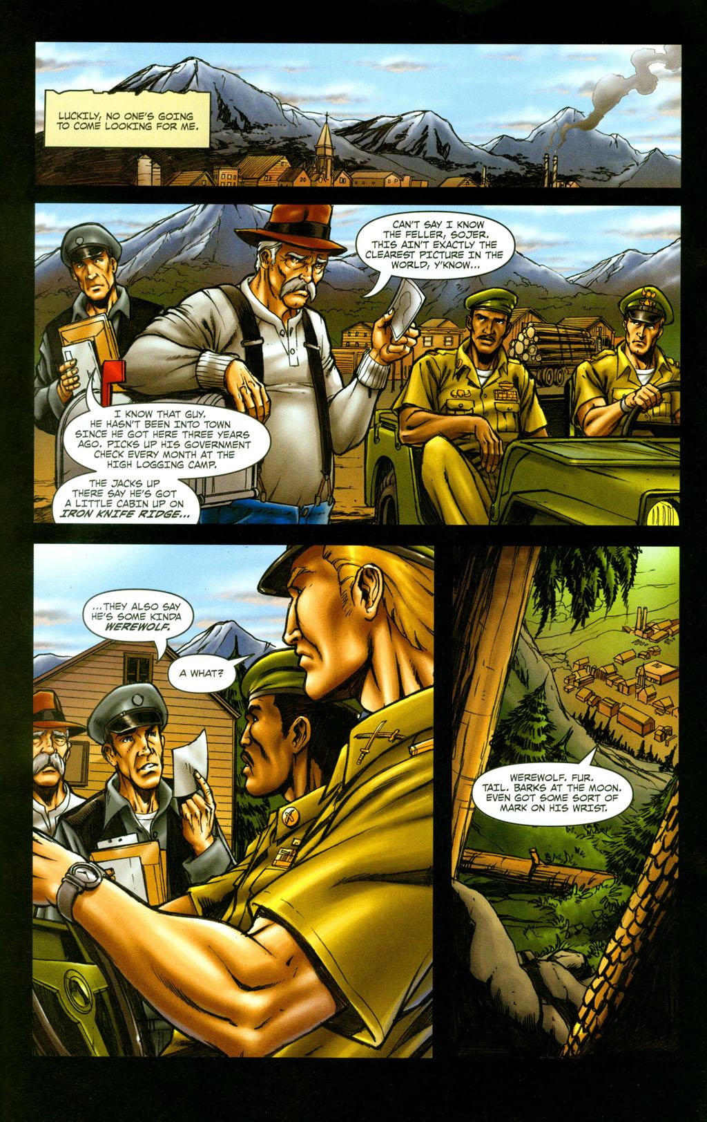 Read online Snake Eyes: Declassified comic -  Issue #5 - 20