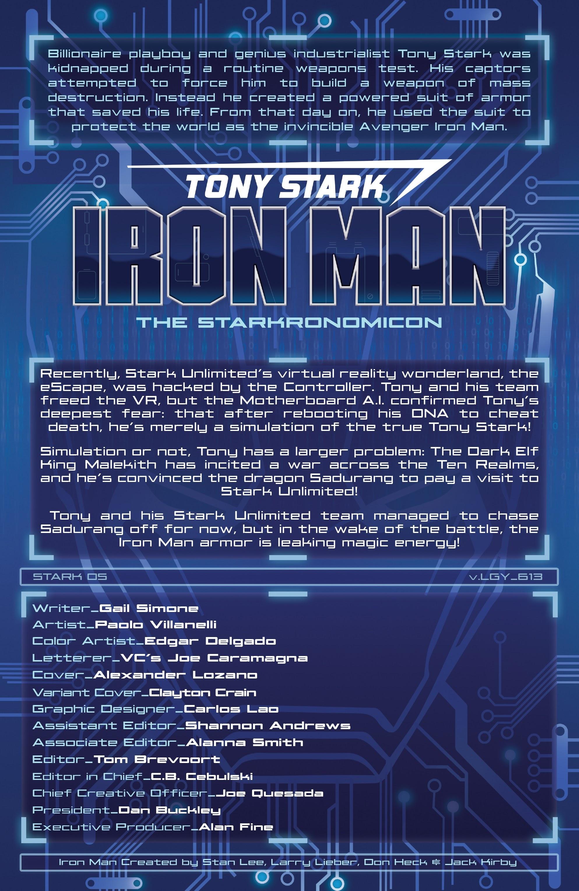 Read online Tony Stark: Iron Man comic -  Issue #13 - 5