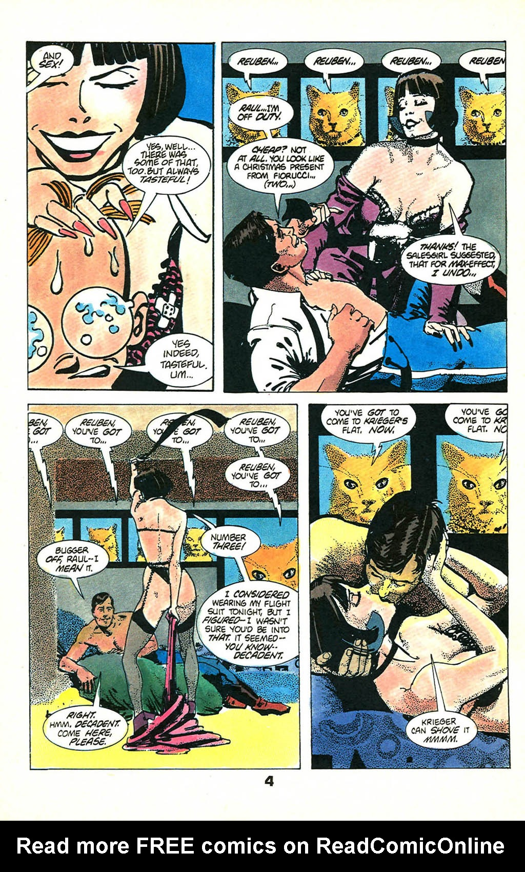 Read online American Flagg! comic -  Issue #46 - 6