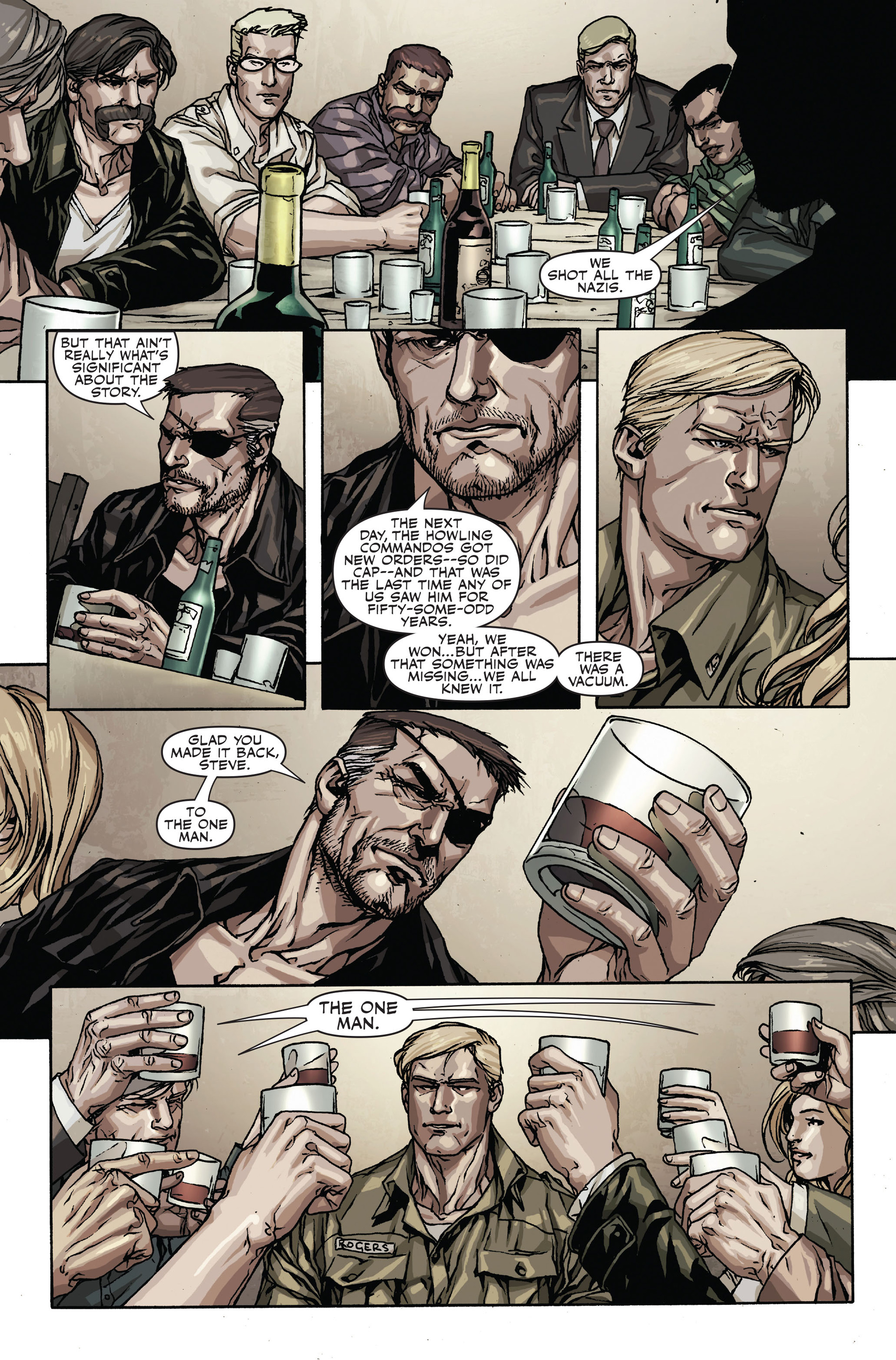 Read online Secret Warriors comic -  Issue #18 - 13