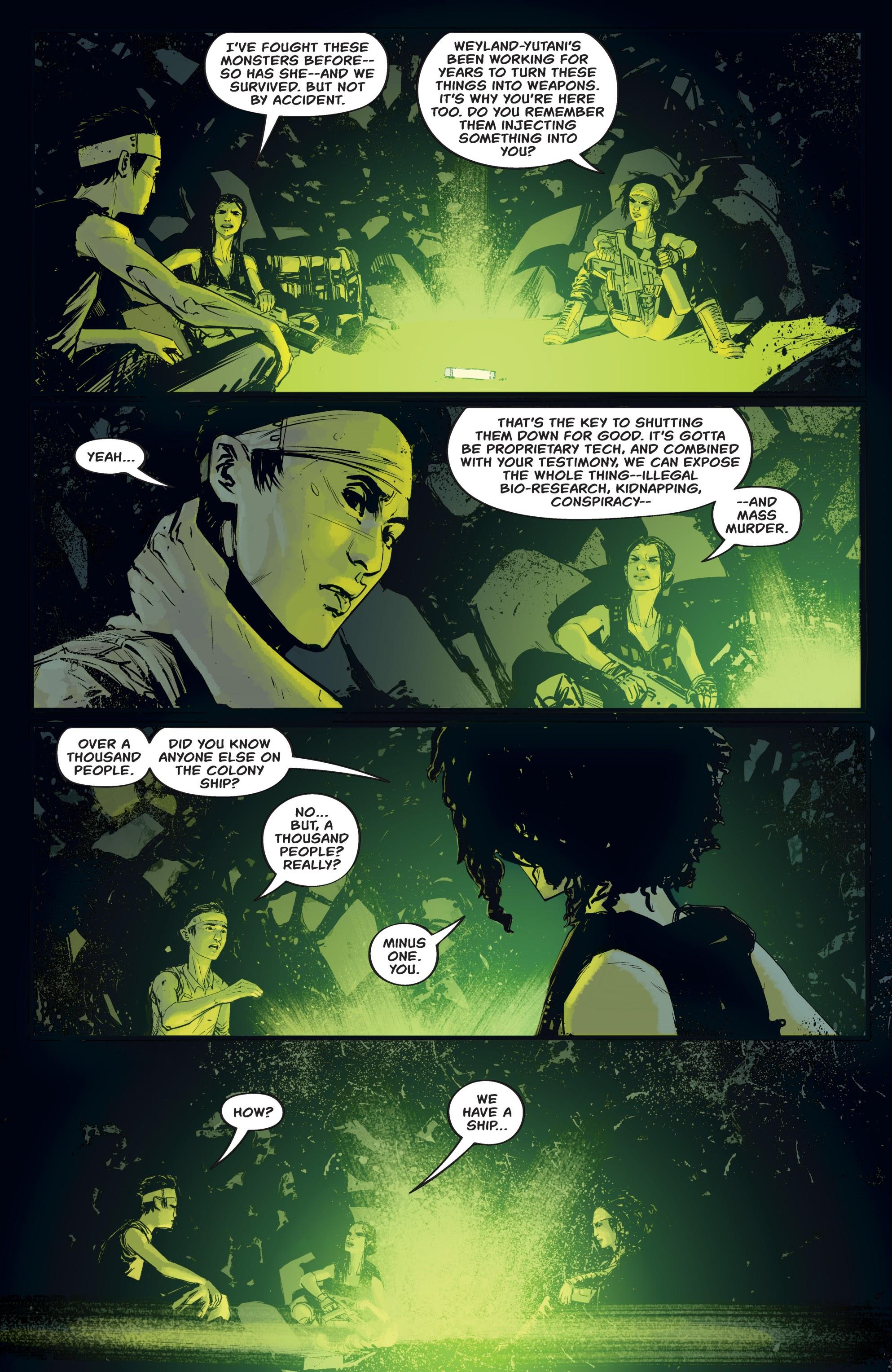Read online Aliens: Resistance comic -  Issue # _TPB - 81