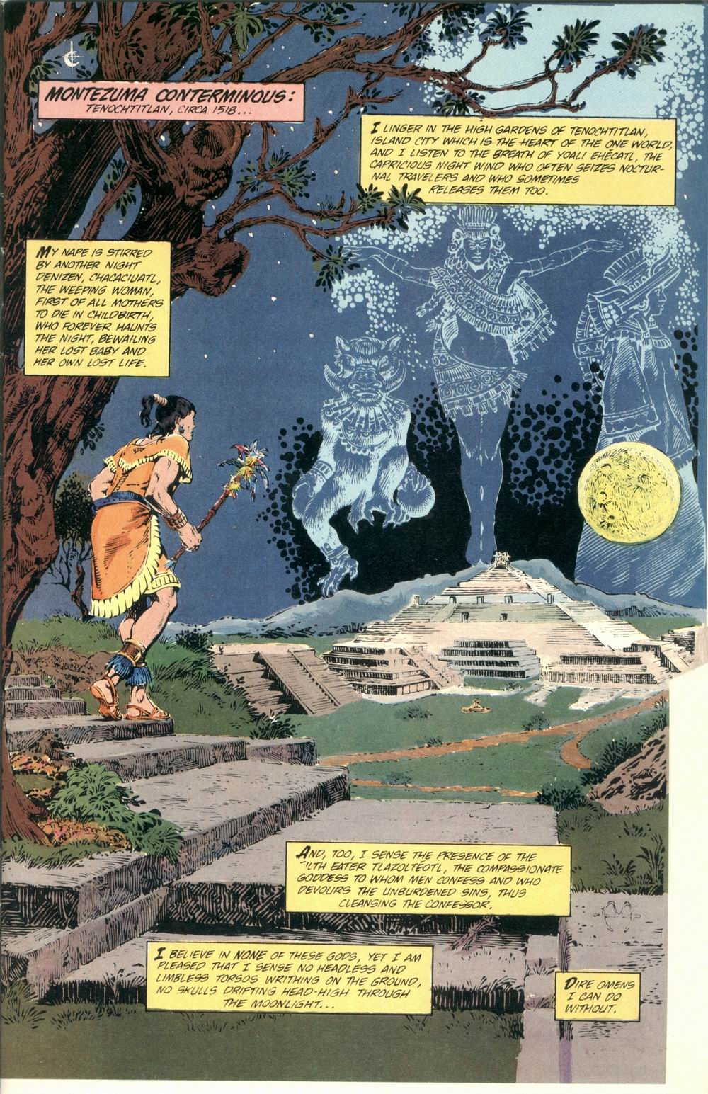 Read online Aztec Ace comic -  Issue #1 - 3