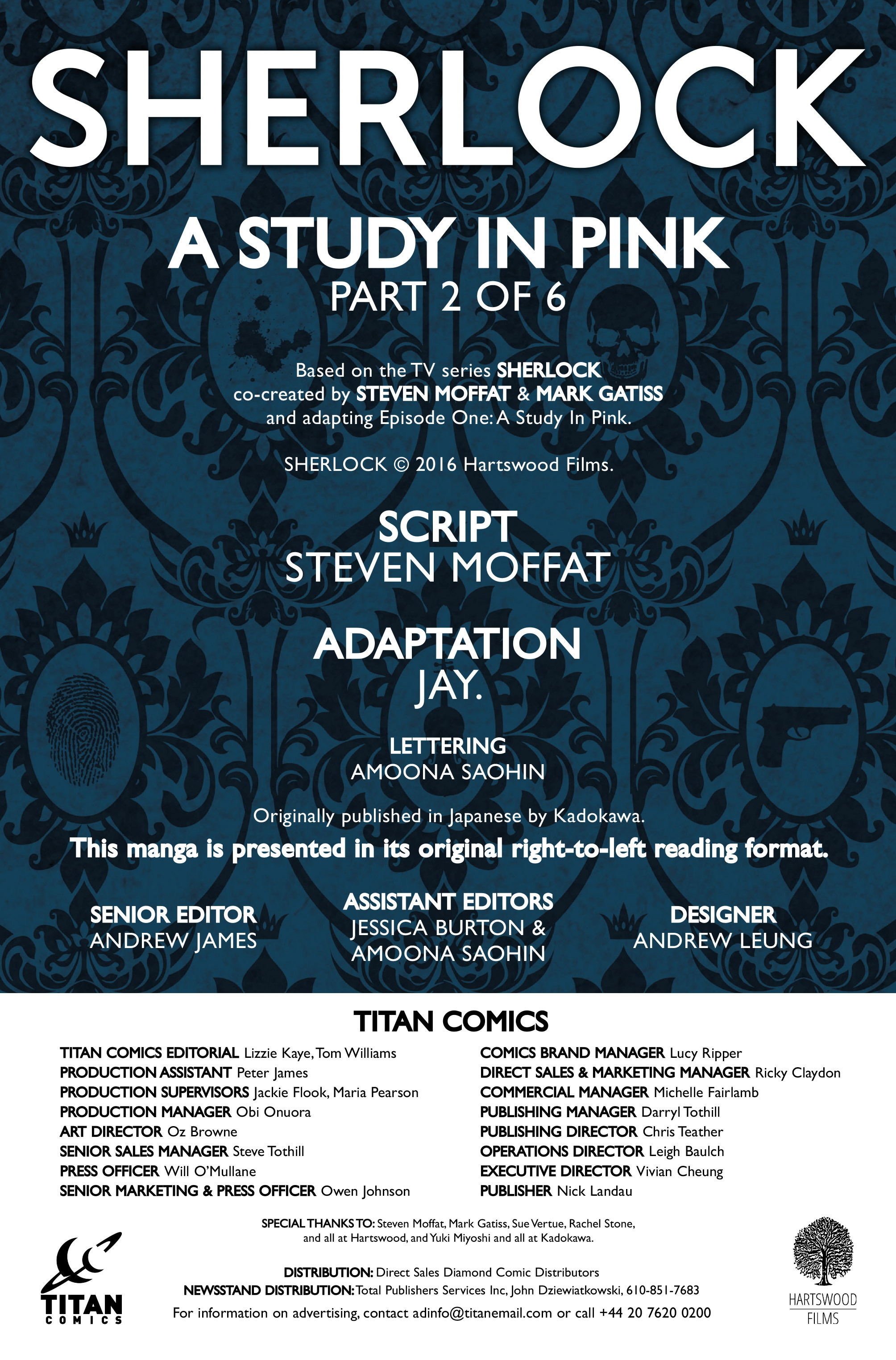 Read online Sherlock: A Study In Pink comic -  Issue #2 - 5
