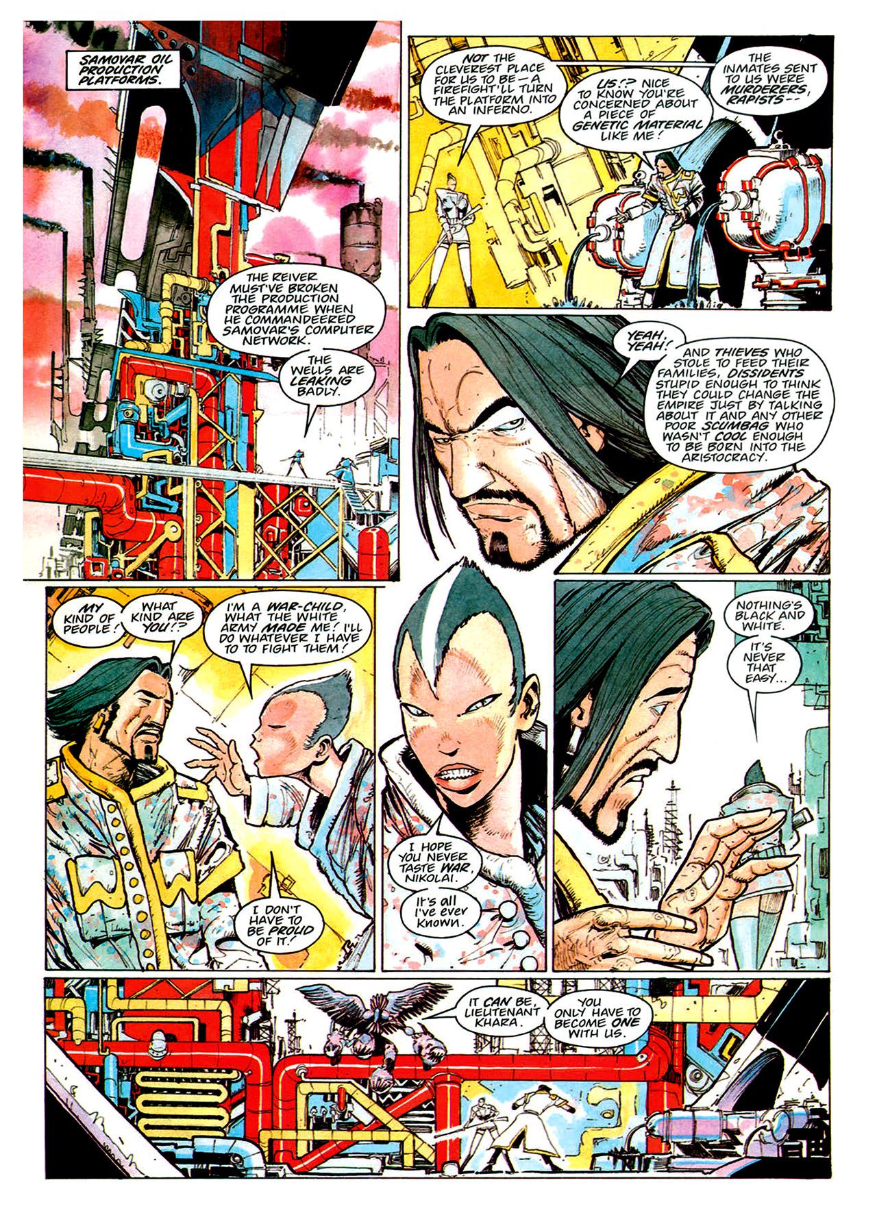 Read online Nikolai Dante comic -  Issue # TPB 1 - 170