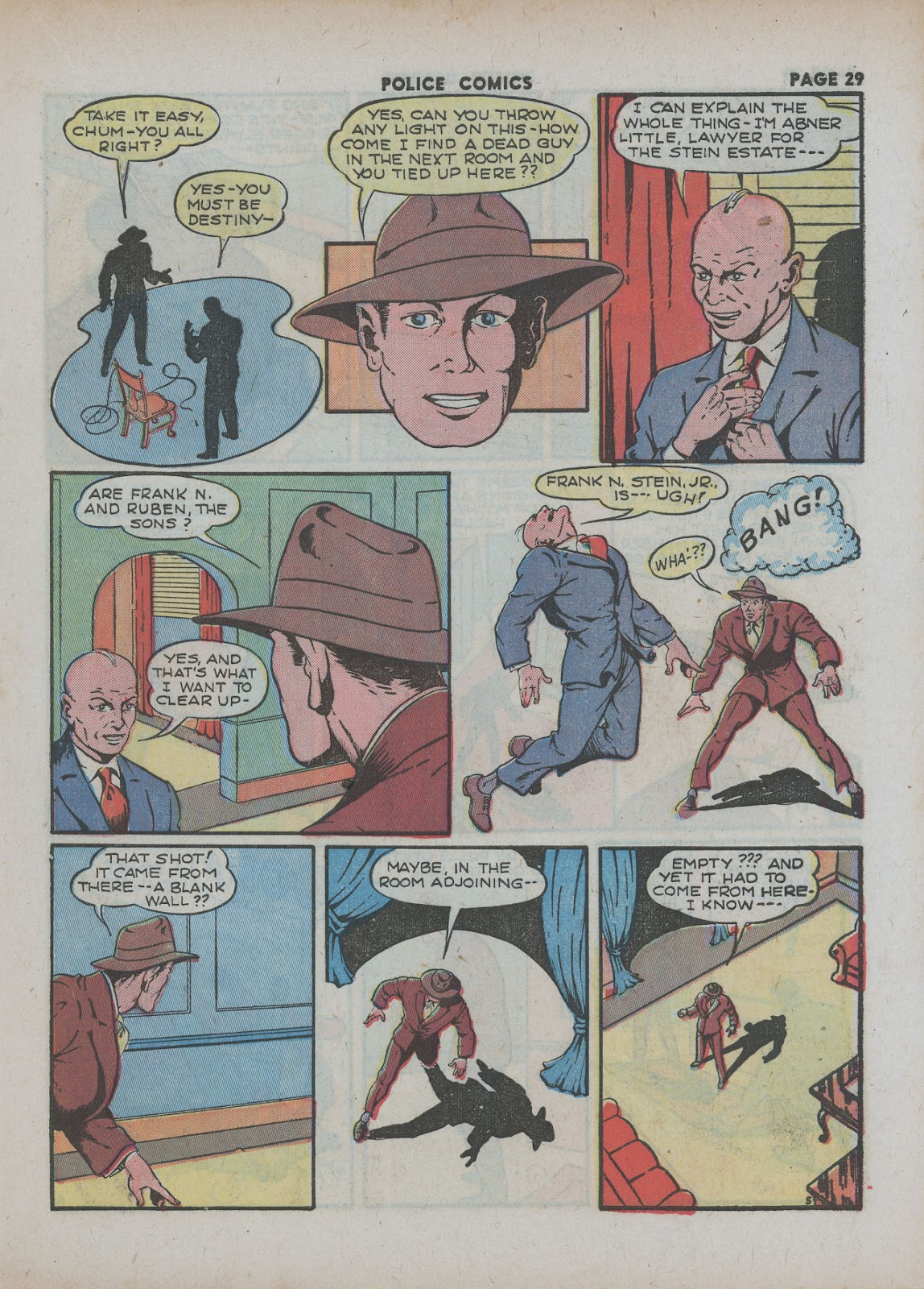 Police Comics issue 18 - Page 31