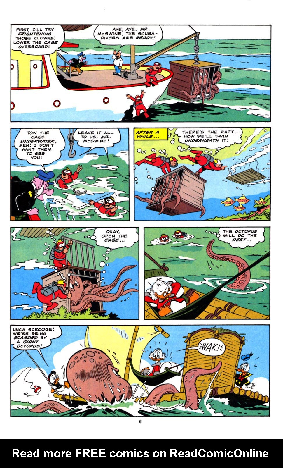 Read online Uncle Scrooge (1953) comic -  Issue #244 - 8