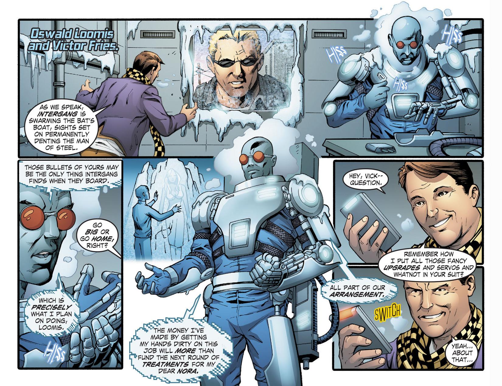 Read online Smallville: Season 11 comic -  Issue #22 - 21