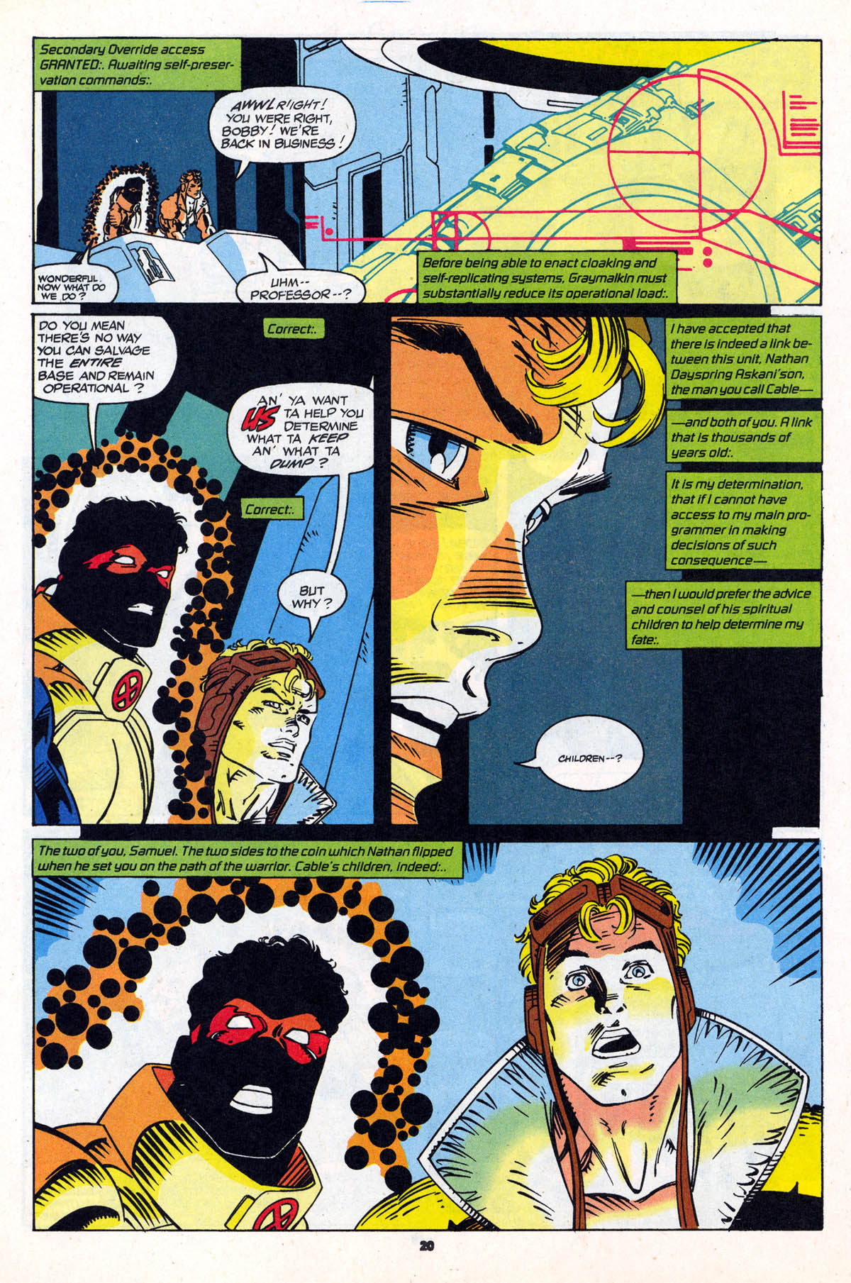 Read online X-Force (1991) comic -  Issue #21 - 21