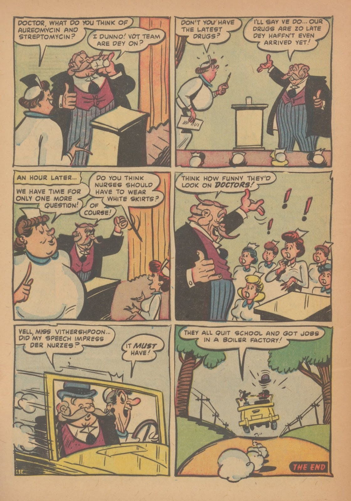 Read online Nellie The Nurse (1945) comic -  Issue #34 - 32