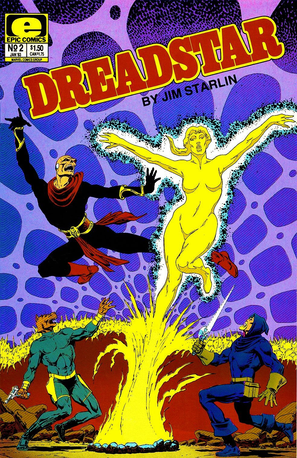 Dreadstar 2 Page 1