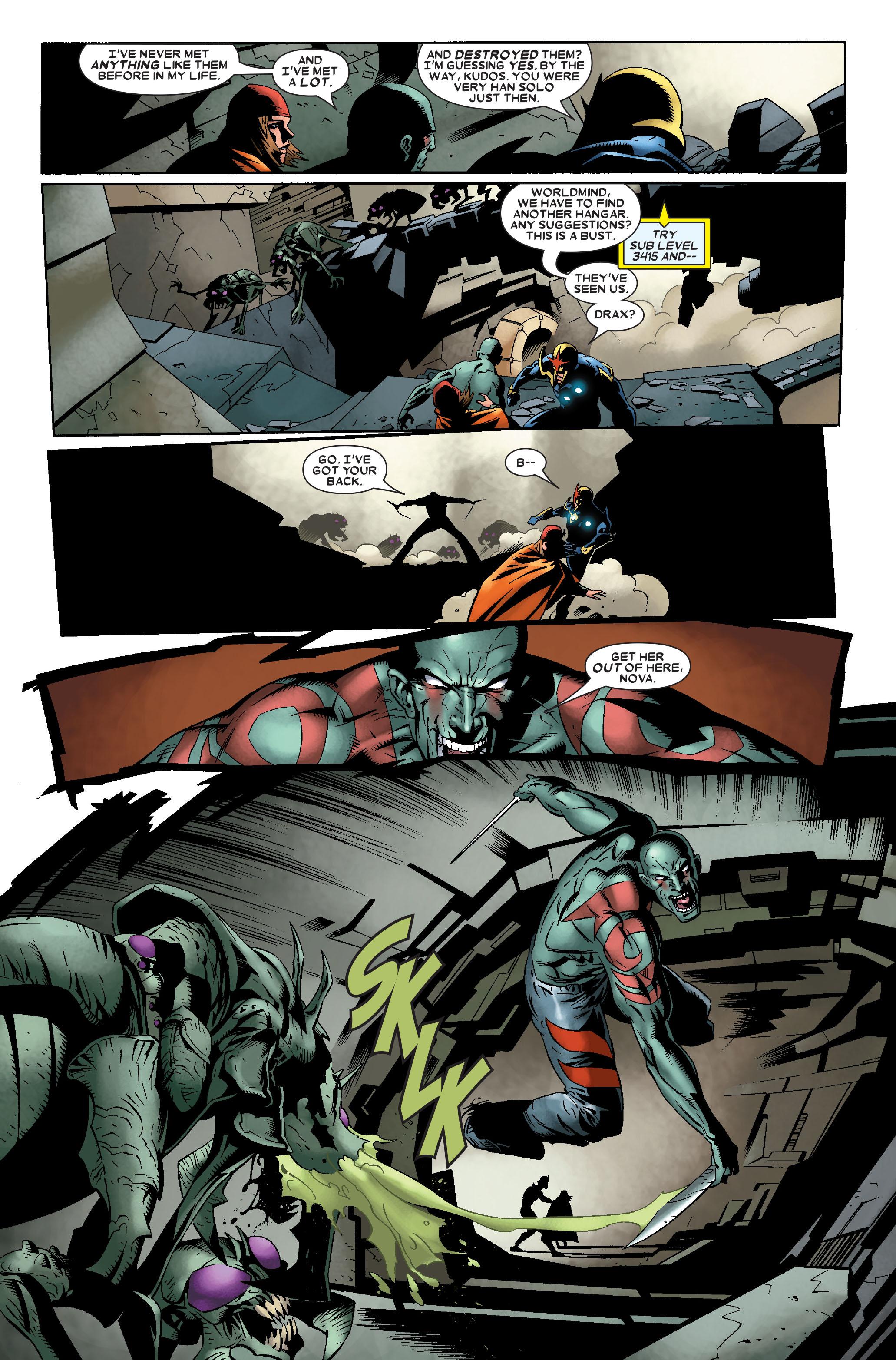 Read online Annihilation: Nova comic -  Issue #2 - 10
