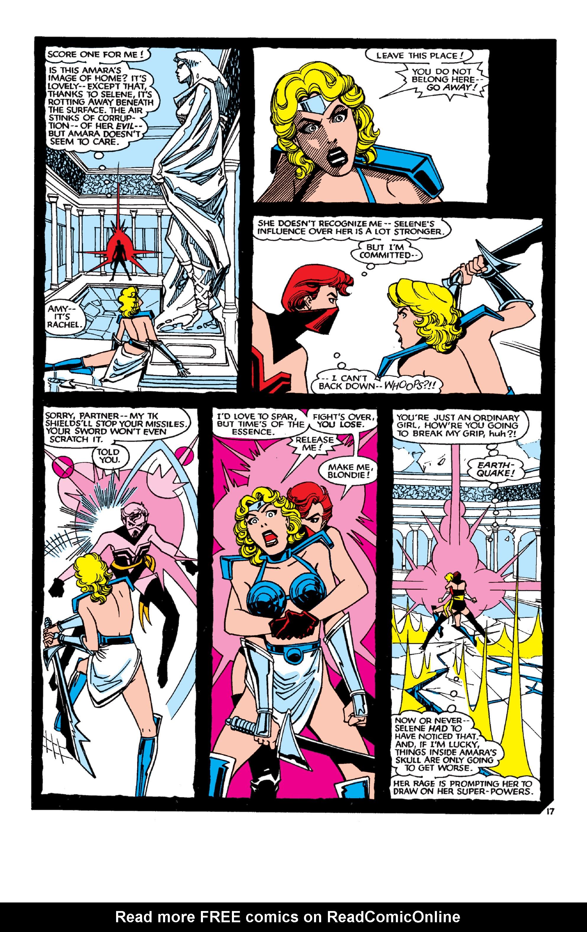 Read online Uncanny X-Men (1963) comic -  Issue #189 - 17